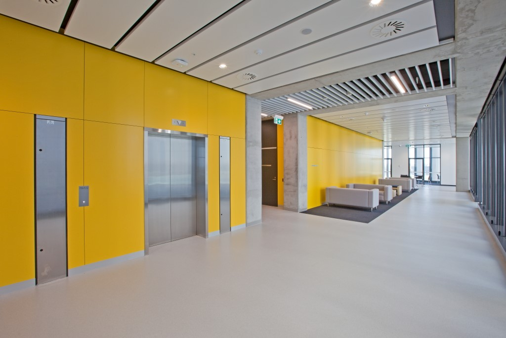 Floor Installation Service on Corporate Buildings